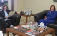 شويكة والسفيرة التونسية تبحثان مجالات التعاون